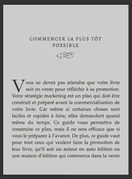 d69dd359542 Votre roman sur Kindle d Amazon avec un texte plus gros